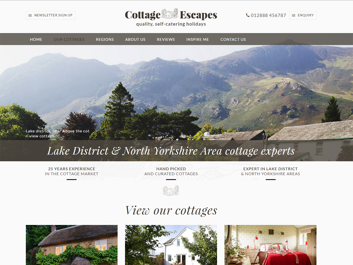 cottage escapes foundation
